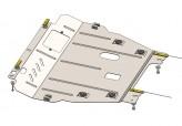 Кольчуга Защита двигателя, коробки передач, радиатора Renault Scenic 2009-2013-