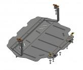 Кольчуга Защита двигателя, коробки передач, радиатора Skoda Yeti  2008-2013-