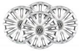 Колпаки VW 313 R15 (Комплект 4 шт.) SKS (с эмблемой)