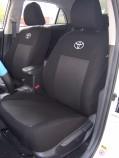 Чехлы на сиденья Toyota Yaris Sedan 2006-2011 EMC