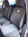 EMC Чехлы на сиденья Renault Fluence 2013- (цельный)