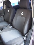 EMC Чехлы на сиденья Renault Logan 2013- Sedan (цельный)