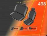 Чехлы на сиденья Renault Master 2003-2010 (1+2)