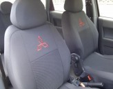 EMC Чехлы на сиденья Mitsubishi Lancer X Sedan (об. 1.6)