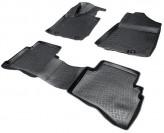Глубокие резиновые коврики в салон Hyundai Tucson 2015- Kia Sportage 2015-