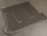 Резиновый коврик в багажник Toyota Prado 120 Lexus GX 470 СЕРЫЙ Unidec