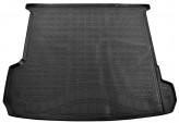 Резиновый коврик в багажник Audi Q7 2015- Unidec