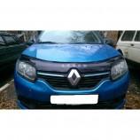 Дефлектор капота Renault Logan 2013-
