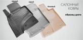 Unidec Резиновые коврики BMW X5 F15 2013- БЕЖЕВЫЕ