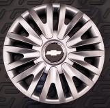 Колпаки Chevrolet 412 R16 (Комплект 4 шт.) SKS (с эмблемой)