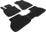 Глубокие резиновые коврики в салон BMW X5 Е70 2006-2013