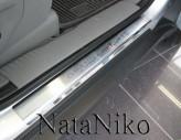 Nataniko Накладки на пороги Jeep Grand Cherokee 2010- (Premium)