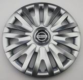 SKS (с эмблемой) Колпаки Nissan 313 R15 (Комплект 4 шт.)
