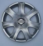 Колпаки Nissan 223 R14 (Комплект 4 шт.) SKS (с эмблемой)