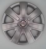 Колпаки Nissan 224 R14 (Комплект 4 шт.) SKS (с эмблемой)
