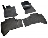 Резиновые коврики Toyota Hilux 2015- Unidec