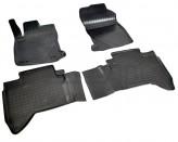 Unidec Резиновые коврики Toyota Hilux 2015-