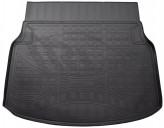 Резиновый коврик в багажник Mercedes C 204 sedan Unidec