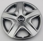 SKS (с эмблемой) Колпаки Nissan 202 R14 (Комплект 4 шт.)