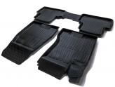 Глубокие резиновые коврики Nissan X-Trail (T31) 2007-2014