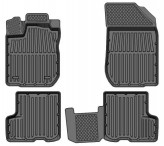 Глубокие резиновые коврики Renault Logan Sandero 2004-2013