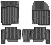 Глубокие резиновые коврики Toyota Rav-4 2006-2012