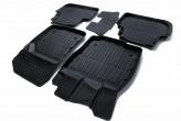 Глубокие резиновые коврики Skoda A7 2013-