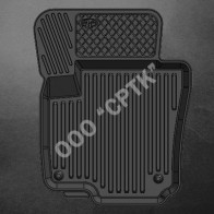 SRTK Глубокие резиновые коврики VW Passat B6 B7 СС 08-11-
