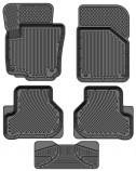 Глубокие резиновые коврики VW Tiguan 2007-2016 Skoda Yeti