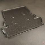 Unidec Резиновый коврик в багажник Toyota Land Cruiser 200 7-ти местный
