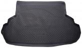 Резиновый коврик в багажник Suzuki SX4 sedan 2007-2013 Unidec
