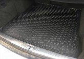 Резиновый коврик в багажник Audi A6 1997-2004 универсал AvtoGumm