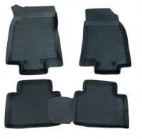 Глубокие резиновые коврики Nissan X-Trail (T32) 2014- (Rogue)
