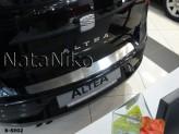 Накладка на бампер Seat Altea 2004-