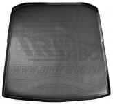 Резиновый коврик в багажник Skoda Superb 2015- sedan Unidec