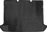 AvtoGumm Резиновый коврик в багажник Fiat Doblo 2001- 5 мест короткая база без сетки