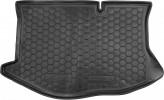 Резиновый коврик в багажник Ford Fiesta 2008-  AvtoGumm