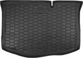 Резиновый коврик в багажник Ford Fiesta 2013-