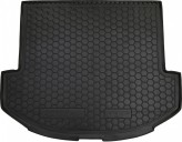 Резиновый коврик в багажник Hyundai Grand Santa-Fe 2013- (7 мест) BASE