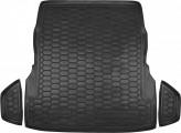 Резиновый коврик в багажник Mercedes S-class W222 (с регулятором сидений)
