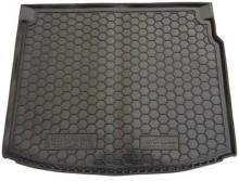 Резиновый коврик в багажник Renault Megane 2009-2015 (универсал) (без ушей)