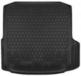 Резиновый коврик в багажник Skoda Octavia A7 2013- (лифтбек)
