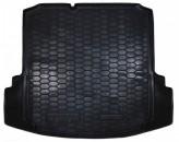AvtoGumm Резиновый коврик в багажник VW Jetta 2010- MID (с ушами)