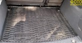 AvtoGumm Резиновый коврик в багажник VW Caddy Life 2004-2015- (оригинальный пассажир)