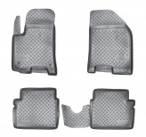 Резиновые коврики Chevrolet Aveo 2004-2011
