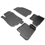 Резиновые коврики Chevrolet Aveo 2011-
