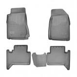 Резиновые коврики Chevrolet Trail Blazer 2012- GM 800 (5 мест)