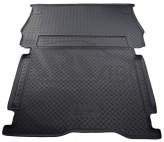 Резиновый коврик в багажник Berlingo B9 Tartner 2008- (грузовой) Unidec