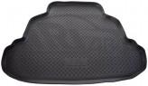 Unidec Резиновый коврик в багажник BYD F-3 sedan 2005-