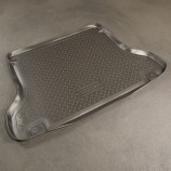 Unidec Резиновый коврик в багажник Chevrolet Lanos sedan 1997-